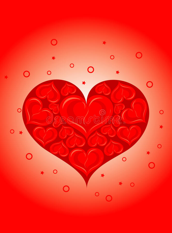 Download Valentines background stock vector. Image of ornament - 22523464