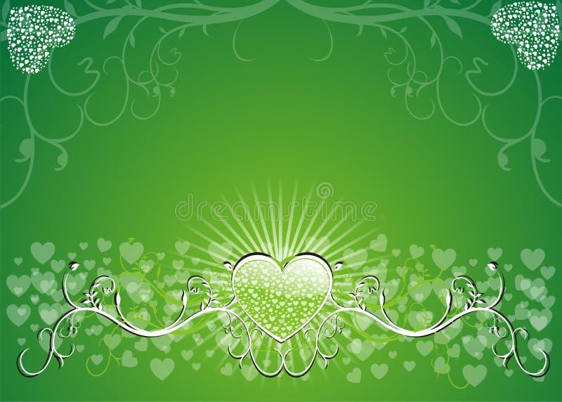 Valentines Background stock illustration