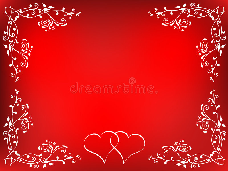 Download Valentines background stock vector. Illustration of abstract - 459493