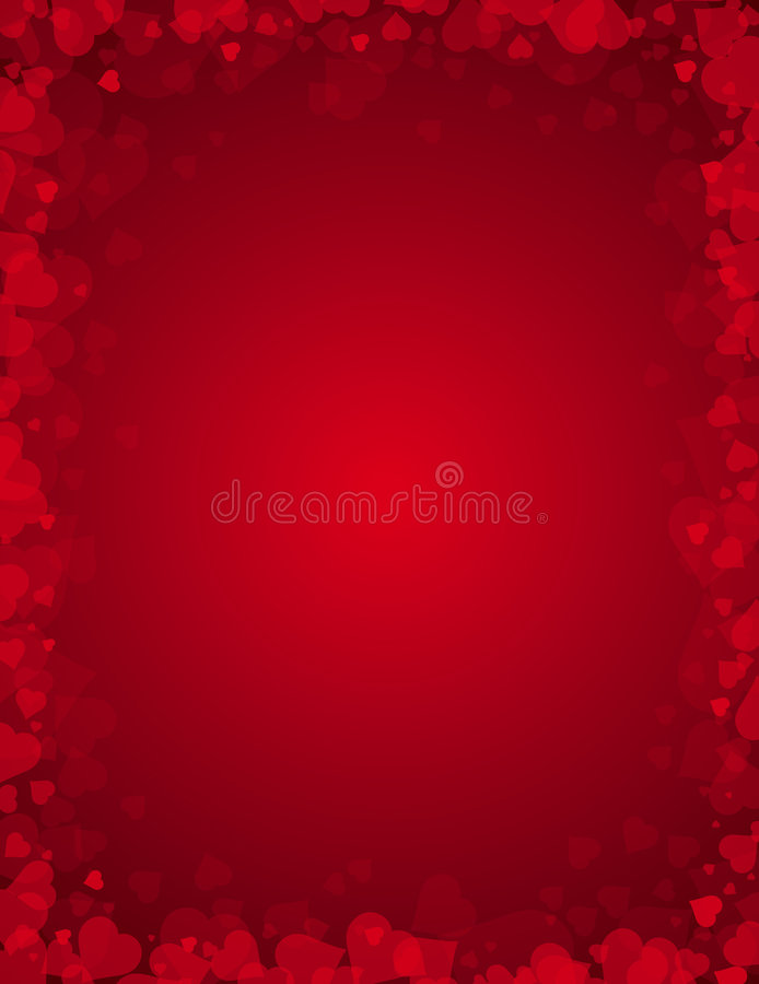 Valentines background, vector royalty free illustration