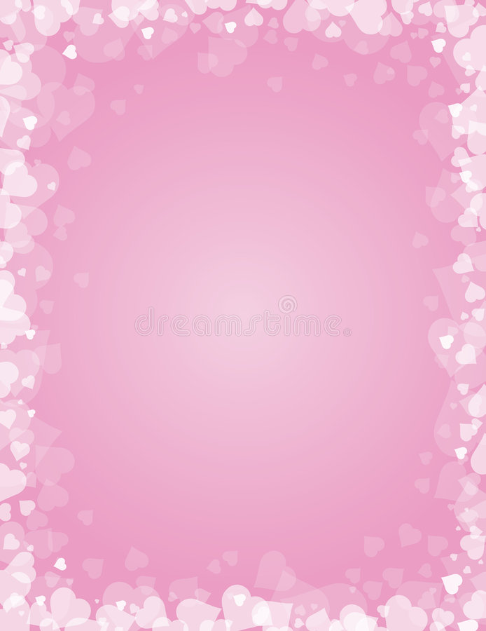 Valentines background, vector royalty free illustration