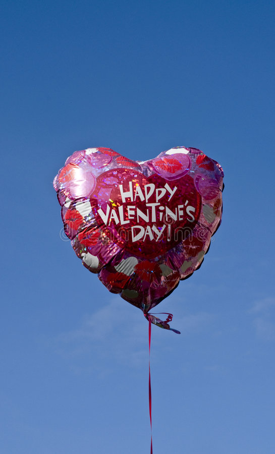 Download Valentines balloon stock photo. Image of celebration, balloons - 8314556