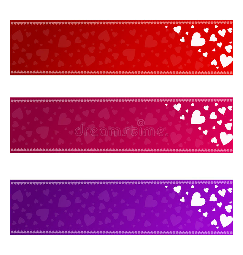 Download Valentines Banners - Vector Royalty Free Stock Image - Image: 23198206