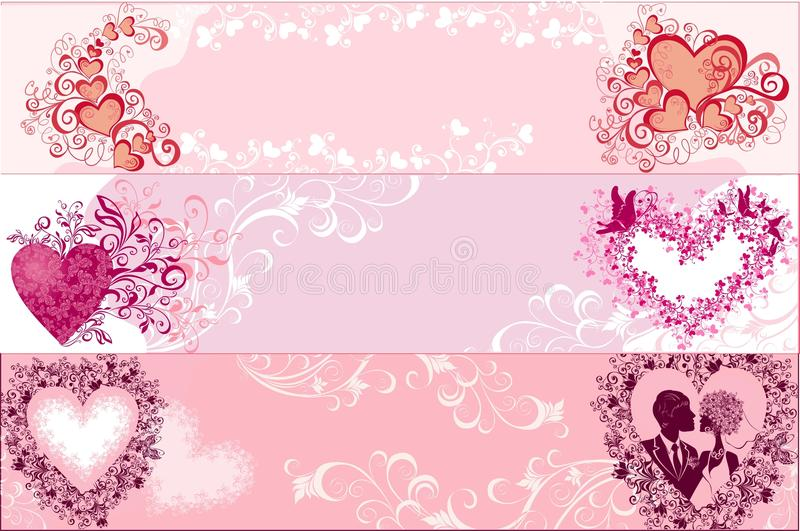 Download Valentines Banners. Vector Illustration Stock Image - Image: 20955501