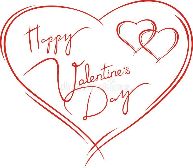 Download Valentines card stock vector. Illustration of ornate - 22698792