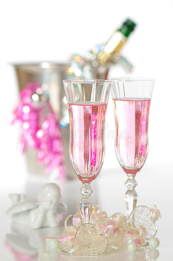 Free Valentines Champagne Stock Image - 12472741