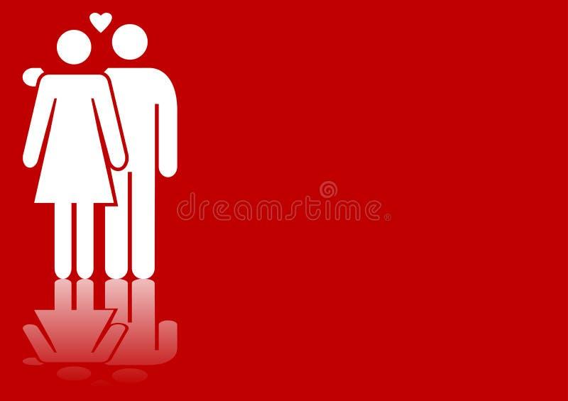 Valentines Couple Royalty Free Stock Photos