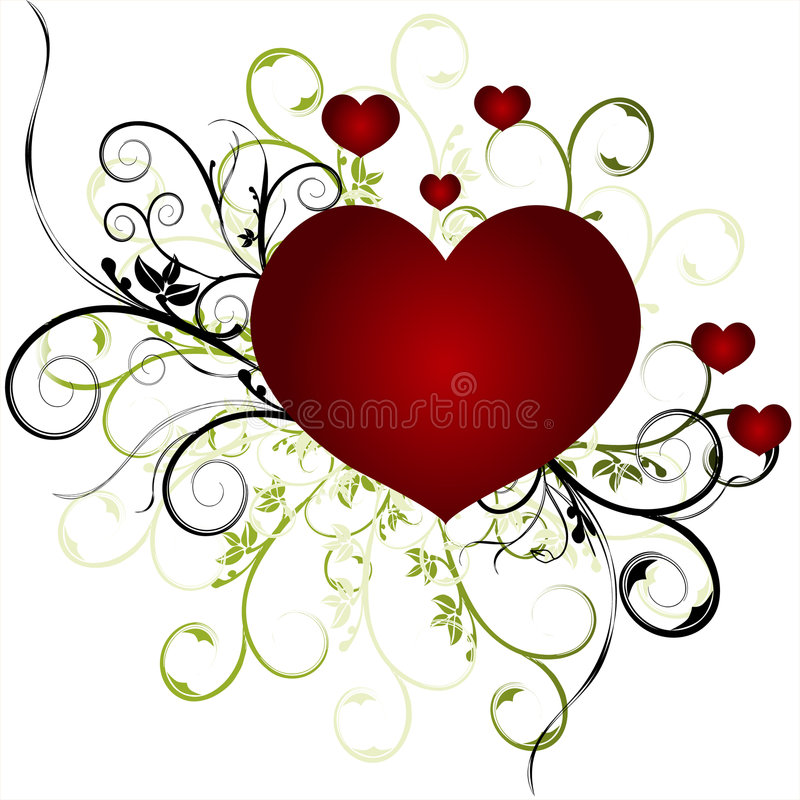 Download Valentines Day stock vector. Image of decoration, gothic - 4076214