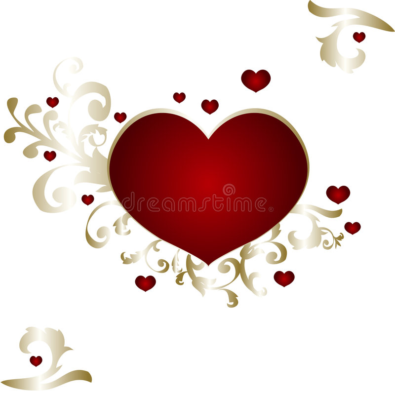 Download Valentines Day stock vector. Image of empire, branch, modern - 4076215