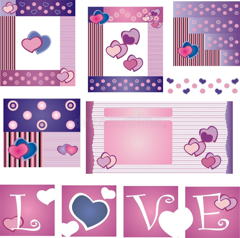 Download Valentines day stock vector. Illustration of backgrounds - 7245034