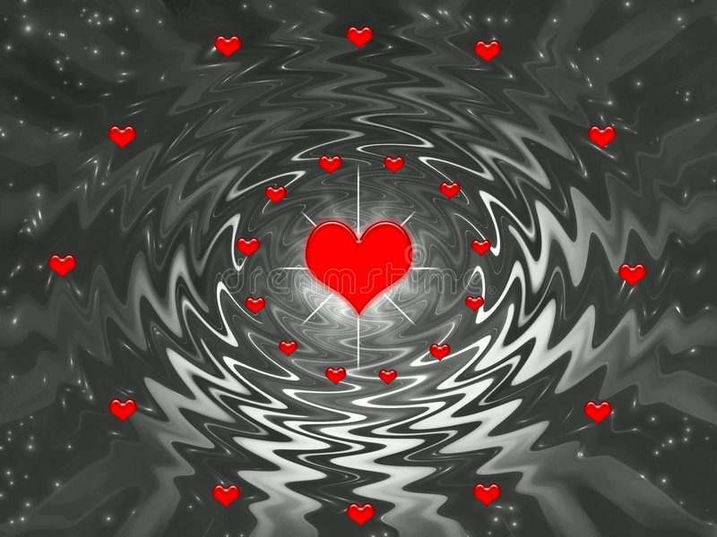 Download Valentines Day Abstract Design Stock Illustration - Image: 1723228