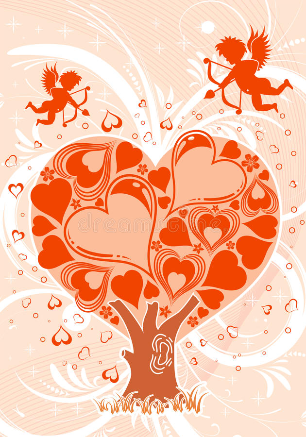 Download Valentines Day background stock vector. Image of beautiful - 12626910