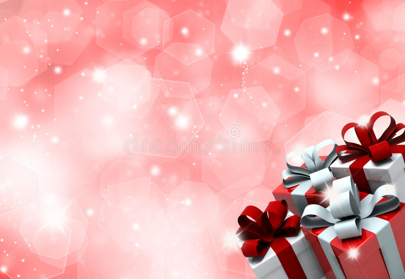 Download Valentines day background stock illustration. Image of gift - 17718730