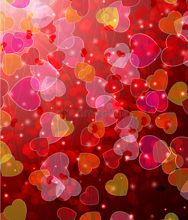 Download Valentines day  background stock vector. Image of love - 22948473