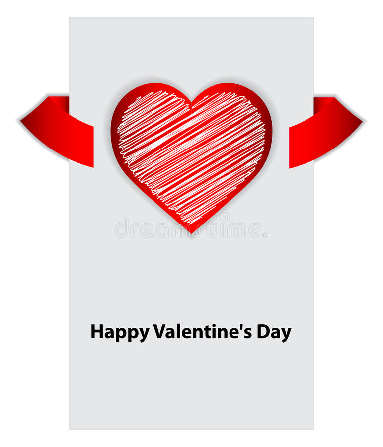 Download Valentines day background stock vector. Image of object - 28825777