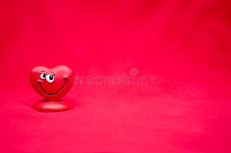 Valentines Day. Background with happy love heart stock photography