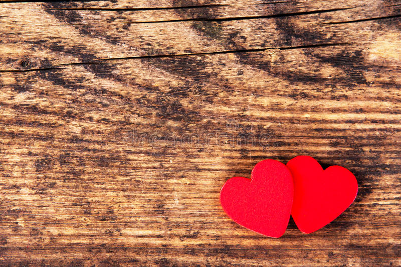 Valentines Day background with heart symbols. royalty free stock image