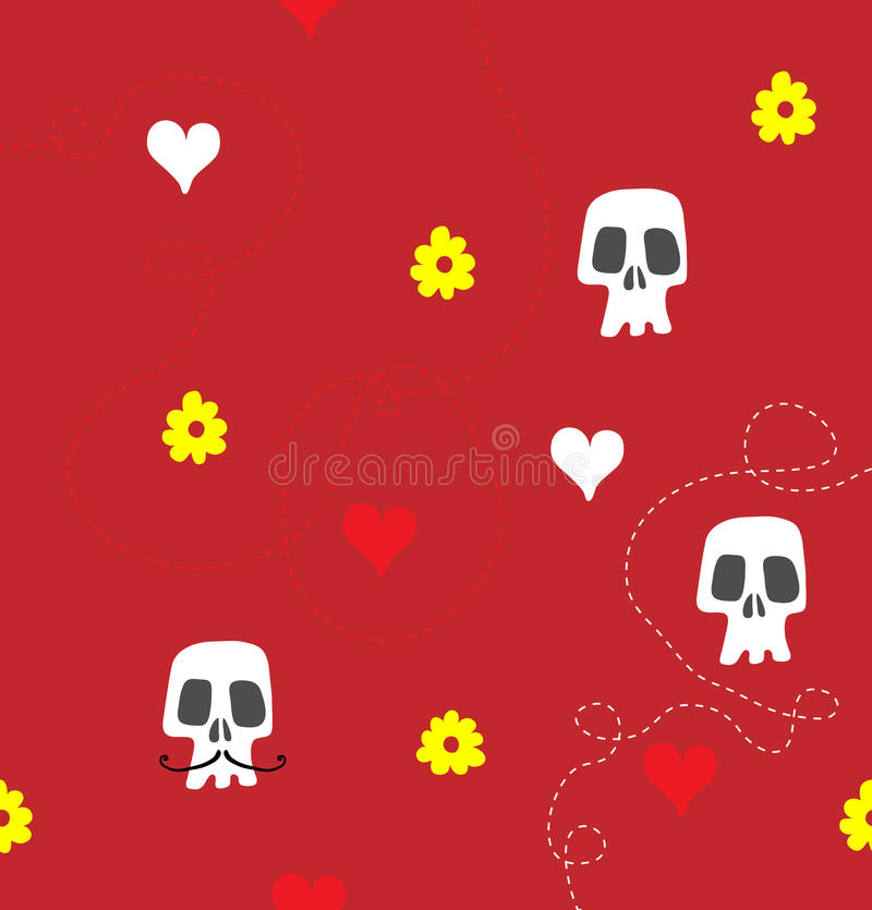 Valentines day background stock illustration