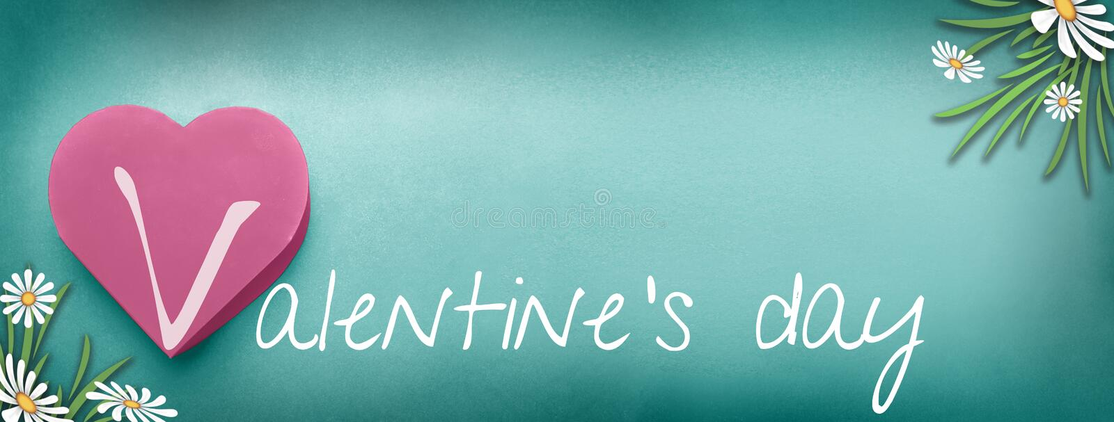 Valentines Day, background stock illustration