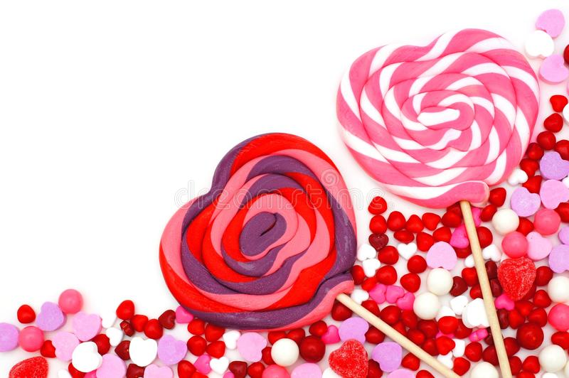 Download Valentines Day Candy Border Stock Image - Image: 36399945