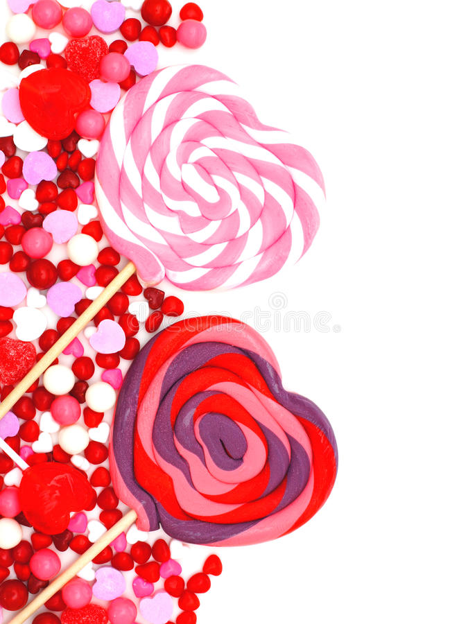 Download Valentines Day Candy Border Stock Photo - Image of colorful, food: 36399866