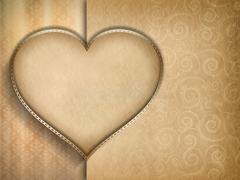 Valentines Day card background royalty free illustration