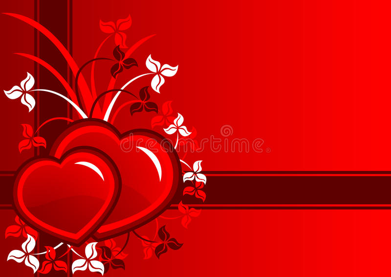 Download Valentines day card stock vector. Image of celebrate - 32972781