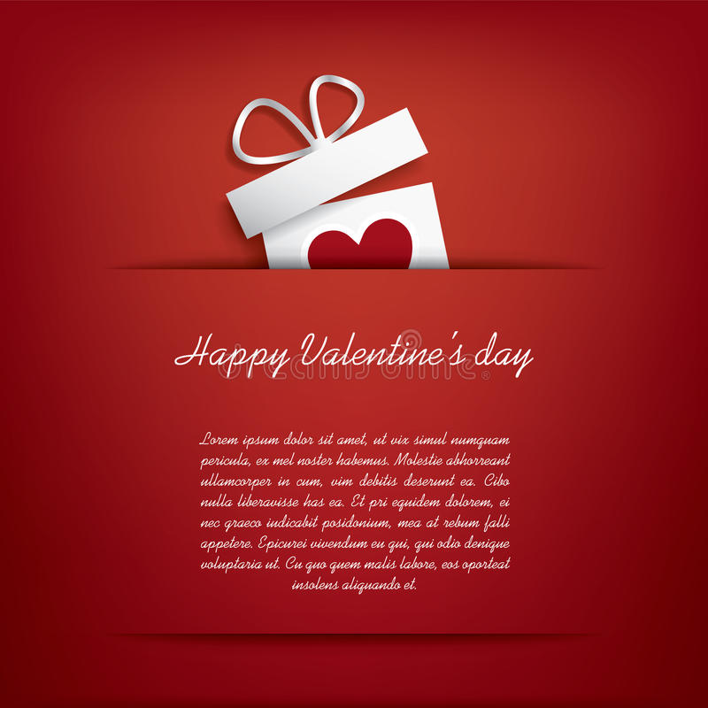 Download Valentines day card stock vector. Illustration of illustration - 36608546