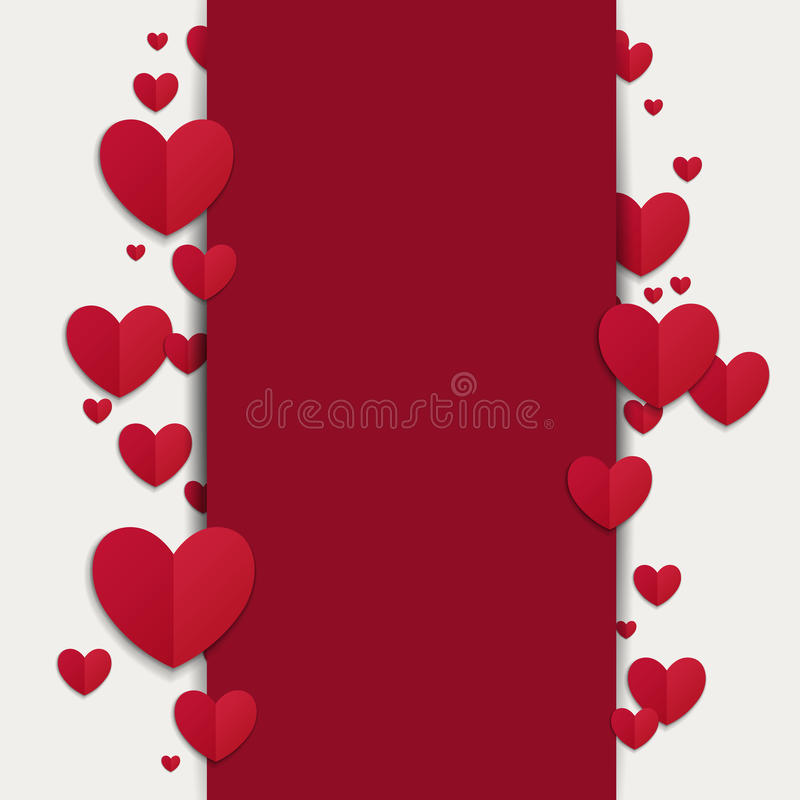 Valentines Day Card. Illustration of a Valentines Day Card vector illustration