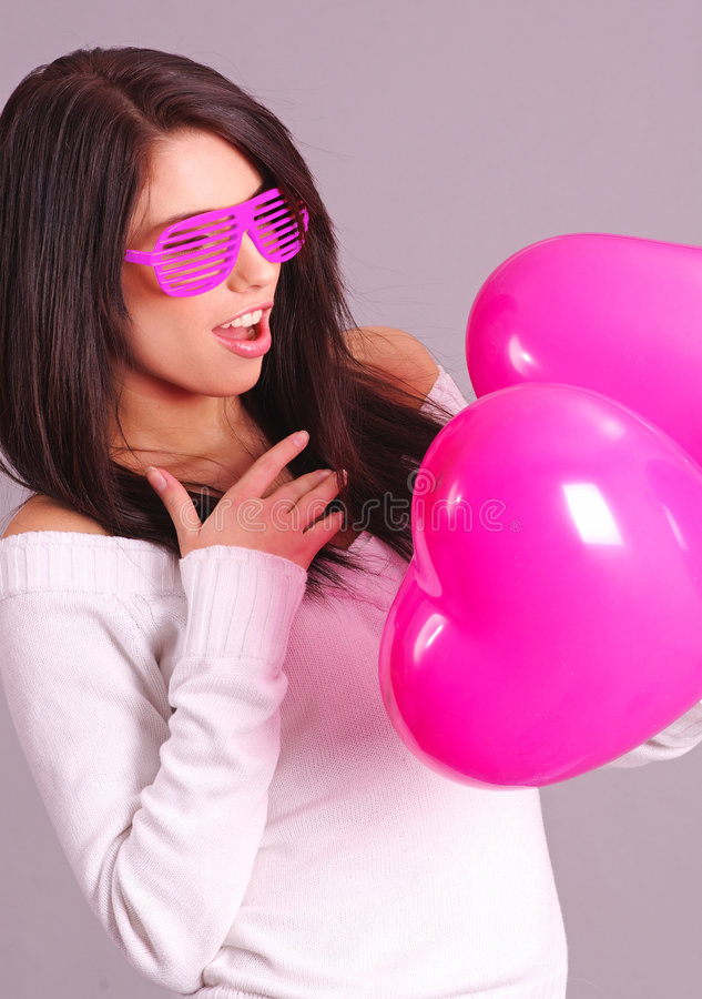 Download The Valentines Day Celebrities Stock Photo - Image: 7655896
