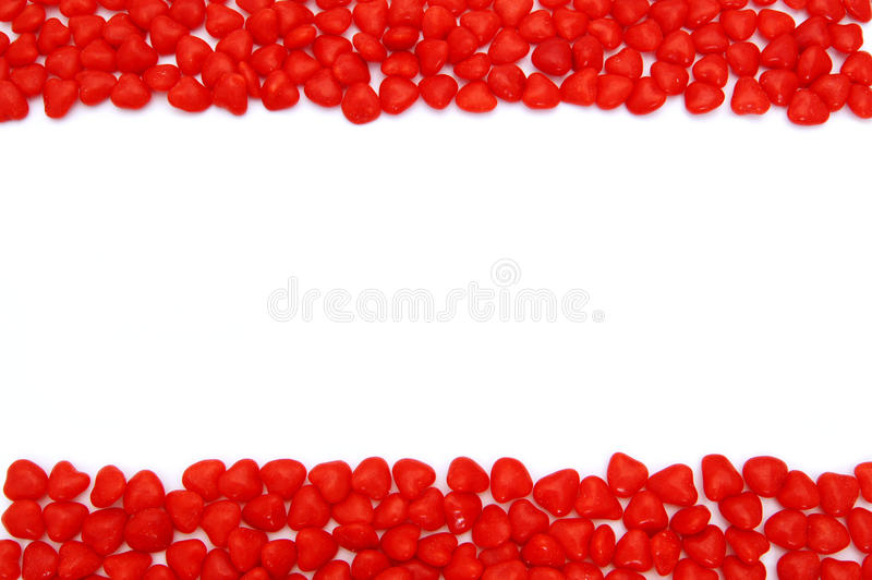 Download Valentines Day Cinnamon Hearts Frame Stock Image - Image: 22736171