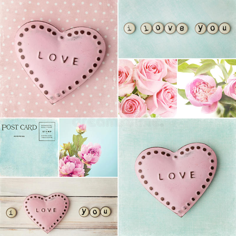 Download Valentines Day Collage Stock Image. Image Of Symbol, Collage    36505641