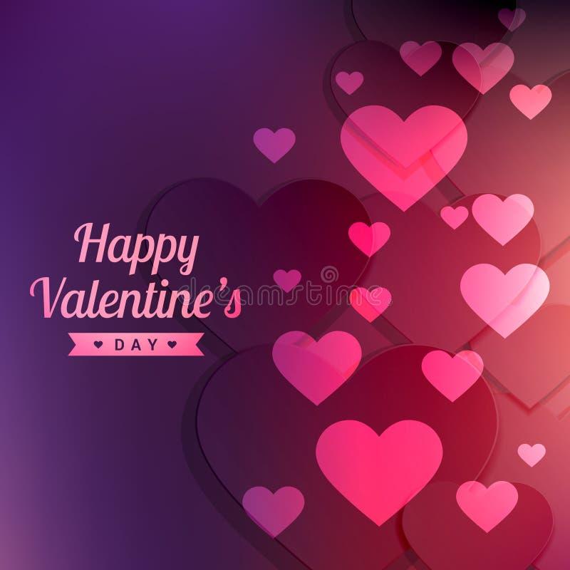 Valentines day colorful background vector design illustration vector illustration