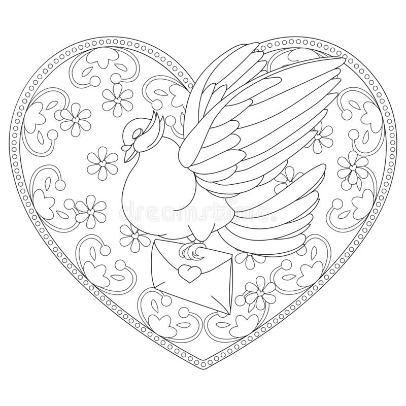 Valentines Day Coloring Pages for Adults – coloring.rocks! | 800x800