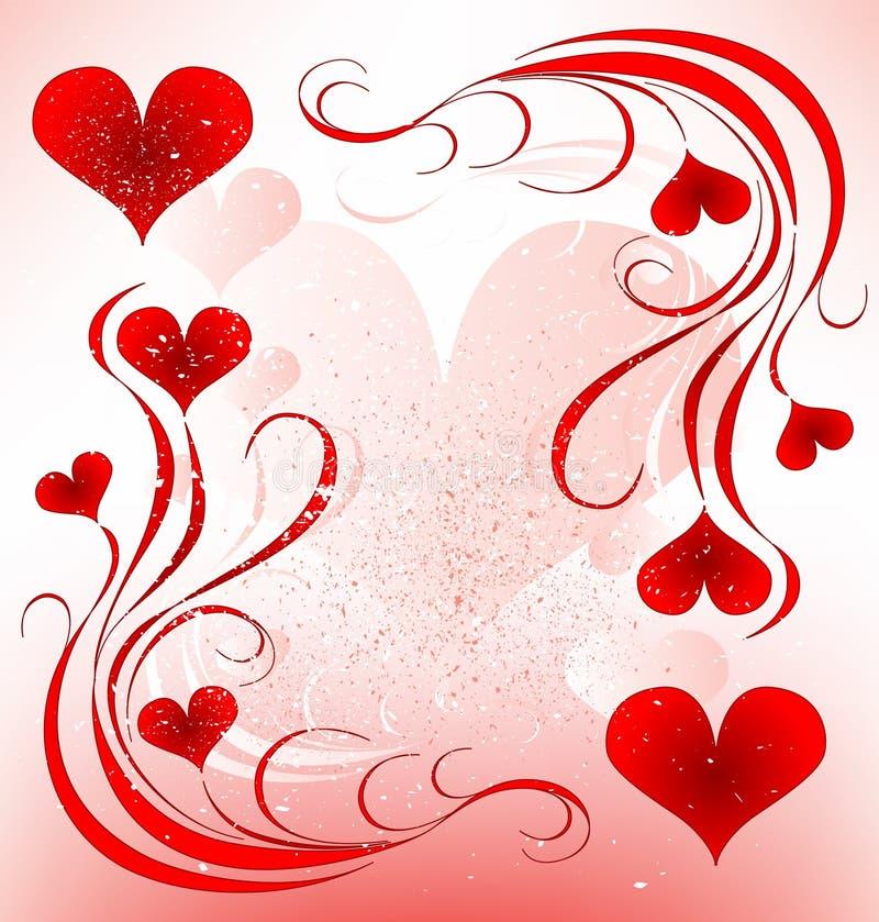 Valentines day design. Vector illustration royalty free illustration