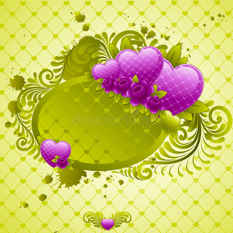 Valentines Day design. royalty free stock images