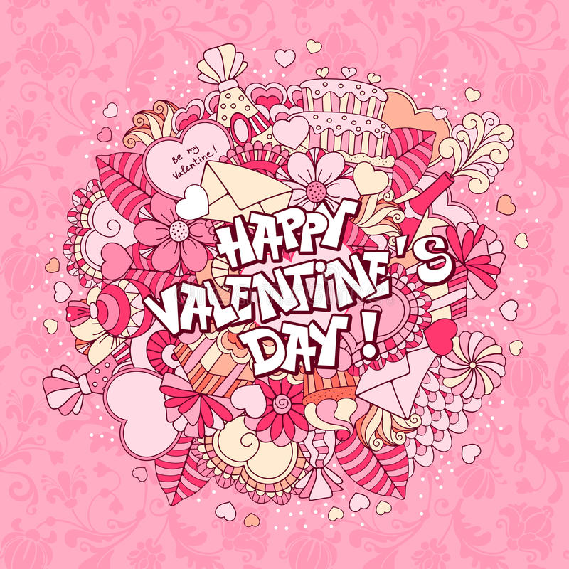 Valentines day royalty free illustration