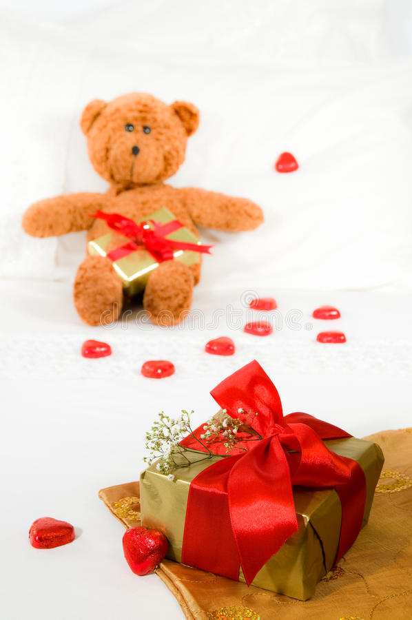 Download Valentines Day Gift stock image. Image of expensive, white - 12694553