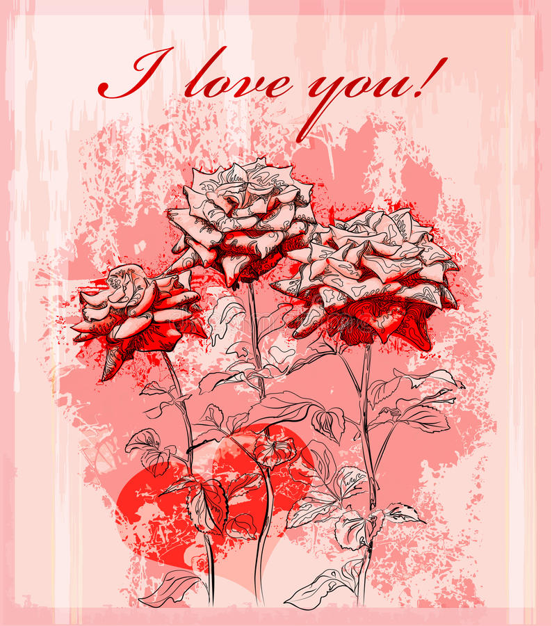 Download Valentines Day Greeting Card Stock Vector - Image: 17756702