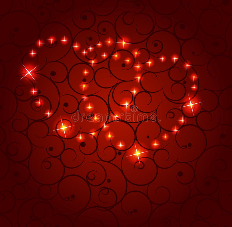 Valentines day heart backgroung,