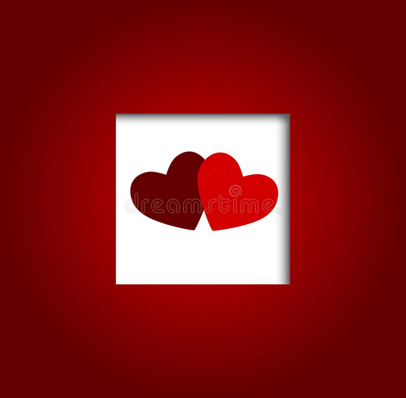 Download Valentines Day Heart Backgroung, Vector Royalty Free Stock Photography - Image: 28424337