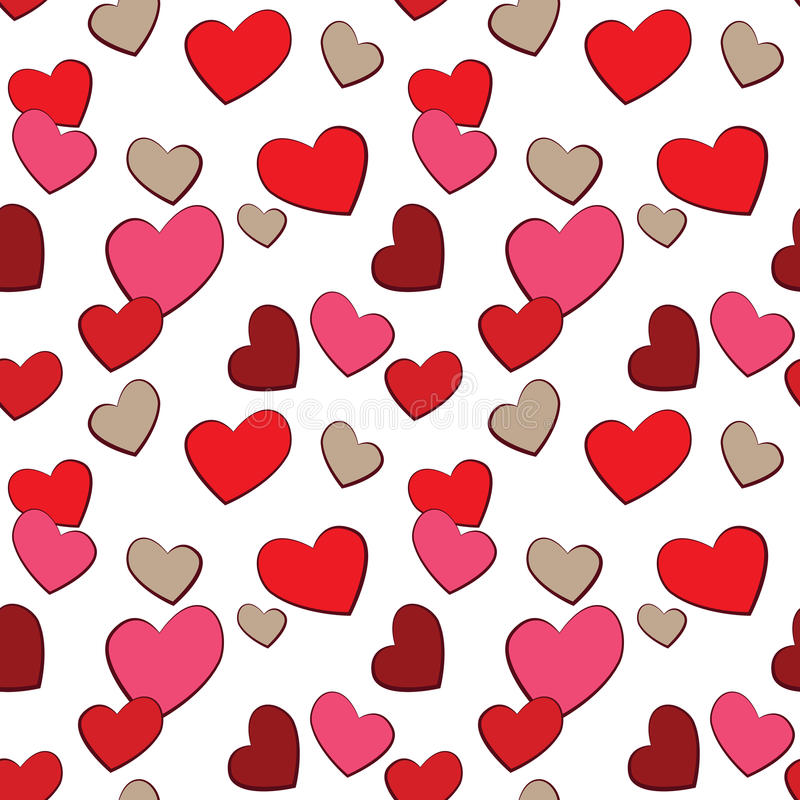 Download Valentines Day Hearts Love  Pattern Stock Images - Image: 28557114