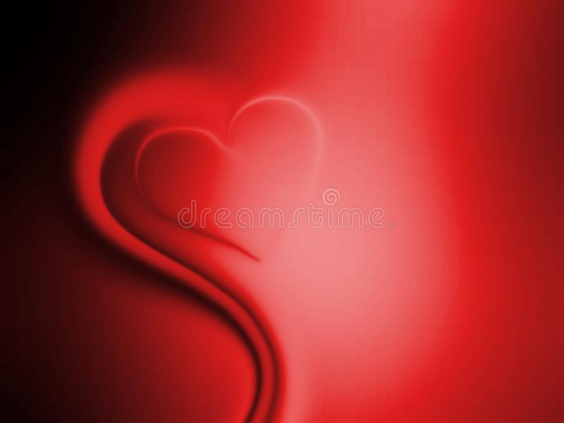 Valentines day hearts on red and black shaded background. Abstract info graphics template design. many uses for advertising, book page, paintings, printing stock image