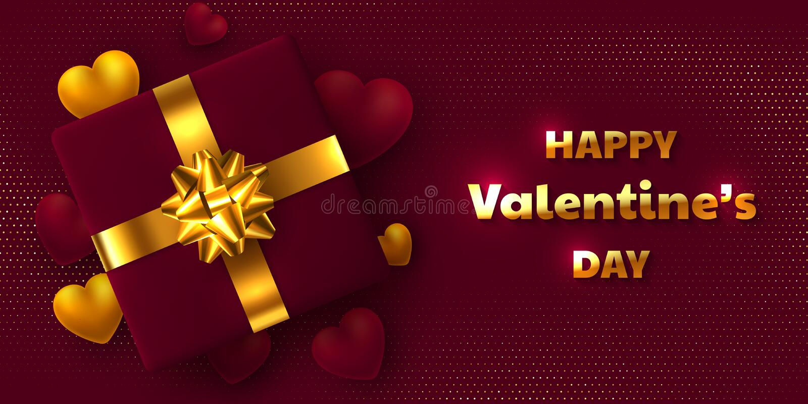 Valentines day holiday design. stock illustration