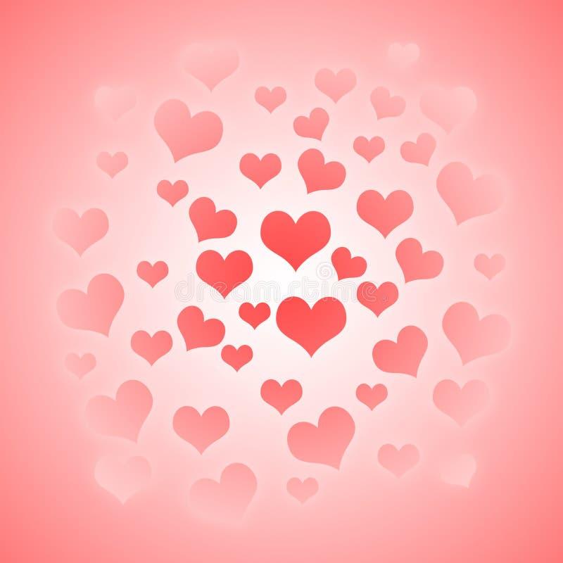 Valentines day illustration background. Happy Valentine. Texture vector illustration