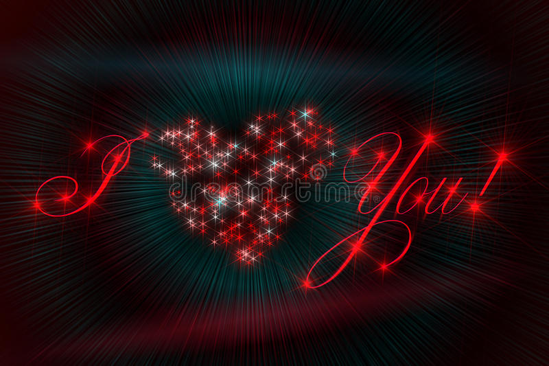 Download Valentines Day Love Glamour Stock Illustration - Illustration of love, dark: 23079357