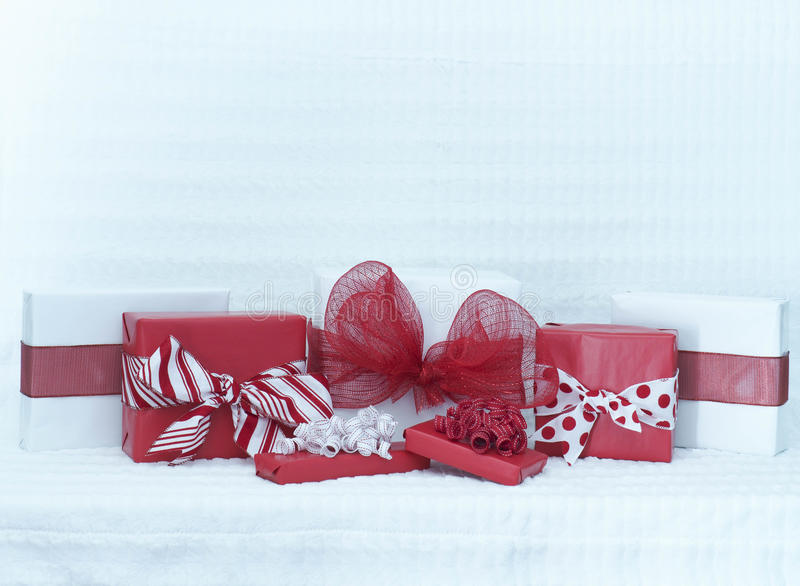 Valentines Day packages stock photos
