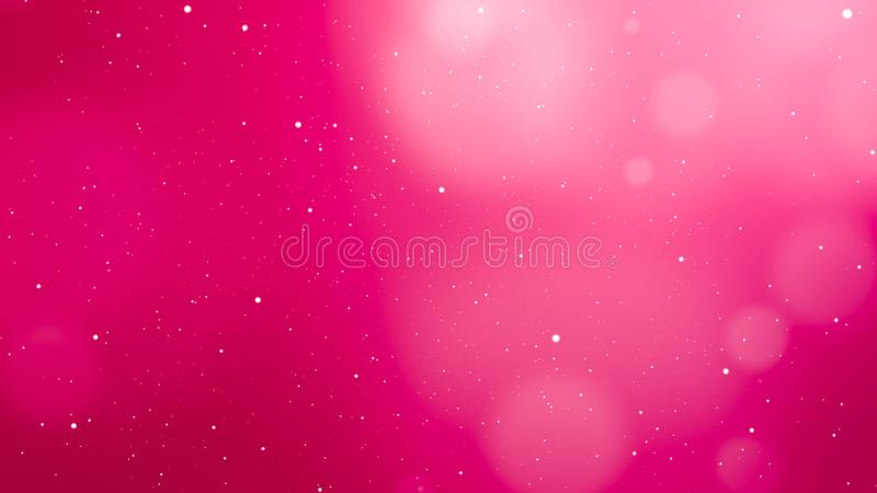 Valentines Day Pink Abstract Background. And love concept. Glittering light elements with bokeh decorations design for romantic background. Product presentation stock photos