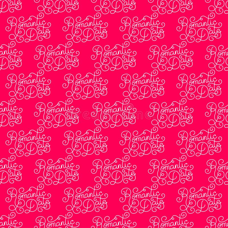Valentines day romantic phrases seamless pattern background romantic phrases seamless pattern background template for a business card colourmoves Images