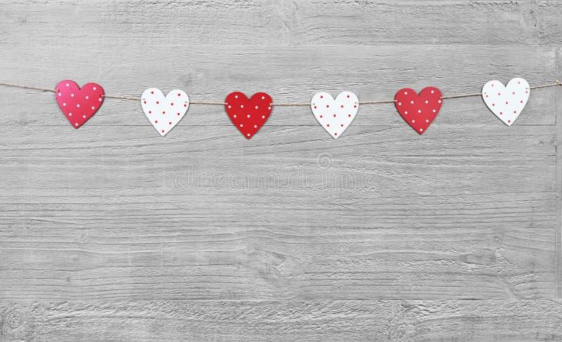 Valentines Day symbols royalty free stock photos